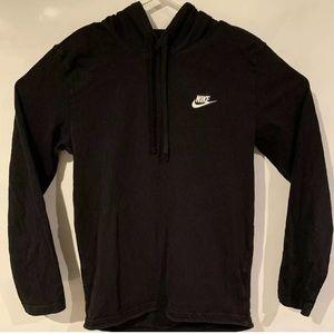 Nike pullover hoodie black activewear lightweight